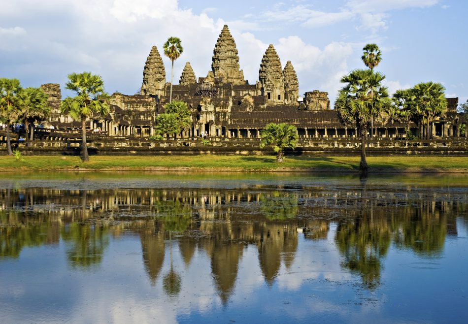 Angkor Wat temple Cambodge