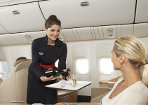 Hotesse de l'air voyage